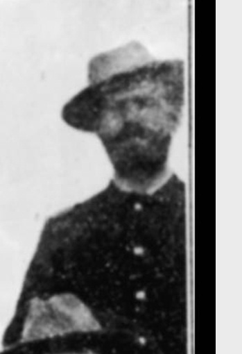 """Second Lieutenant S. R. H. """"Tommy"""" Tompkins, D Troop, 7th Cavalry, at Pine Ridge Agency, 16 Jan. 1891. Cropped from John C. H. Grabill's photograph, """"The Fighting 7th Officers."""""""