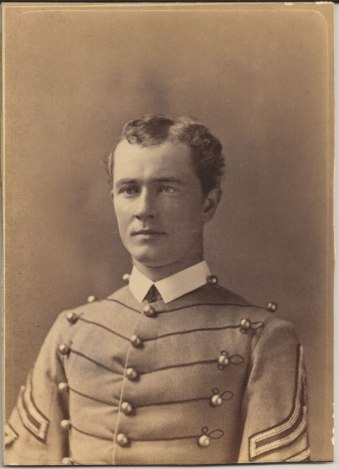 James D. Mann as a cadet first sergeant at the United States Military Academy at West Point, New York.