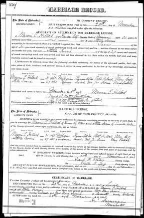 marriage certificate hilloock irvine