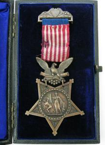 Medal of Honor presented to Private George Hobday, A Troop, 7th Cavalry