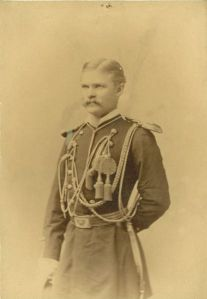 Lieutenant Ernest A. Garlington, 7th U.S. Cavalry, circa 1876.[1]