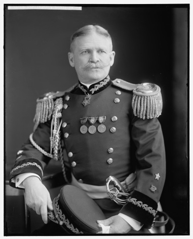 Brigadier General Ernest Albert Garlington, Inspector General of the Army. Photograph by Harris & Ewing Photography.