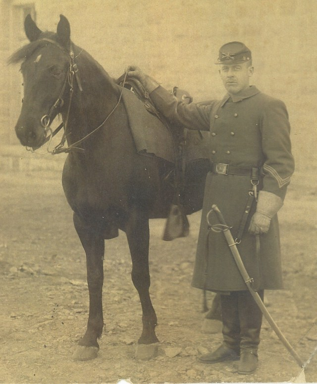 Sergeant Haselwood and Mount
