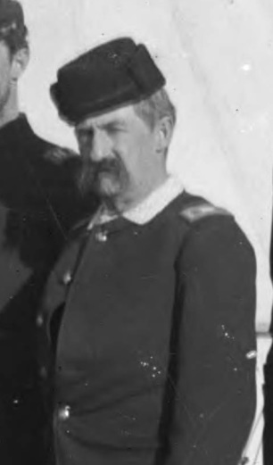 Major Jacob Ford Kent at the Pine Ridge Agency, 13 January 1891.