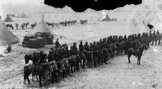 Lieut. Cloman's troop of Indian scouts P.R. Agency S.D.
