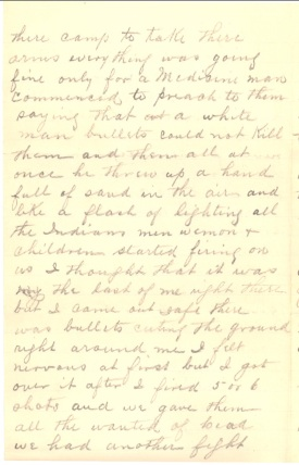 (Click to enlarge) page 2 of McGuire's 10 January 1891 letter.
