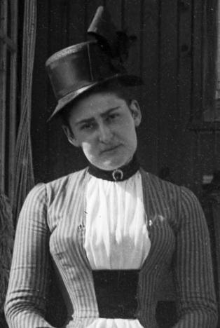 Emma C. Sickels, circa 1890-1891