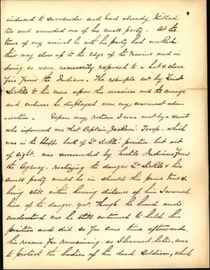 Nowlan letter commending Sickel - 8 Oct 1891 page 2