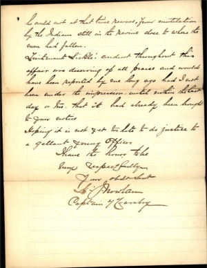 Nowlan letter commending Sickel - 8 Oct 1891 page 3