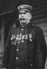 Fred E Toy in uniform