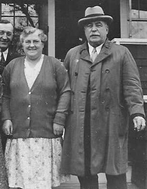 Fred E. Toy with second wife Margaret Crawford